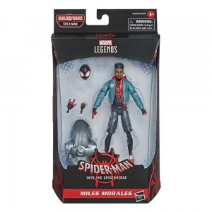 Figurka Miles Morales - Marvel Legends Series Spider-Man 2021 - 15 cm