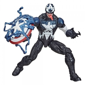 Figurka Spider-Man: Maximum Venom Marvel Legends Series - Venomized Captain America 15 cm