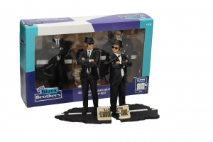 Zestaw figurek Blues Brothers Movie Icons Statue 2-Pack Jake & Elwood 18 cm